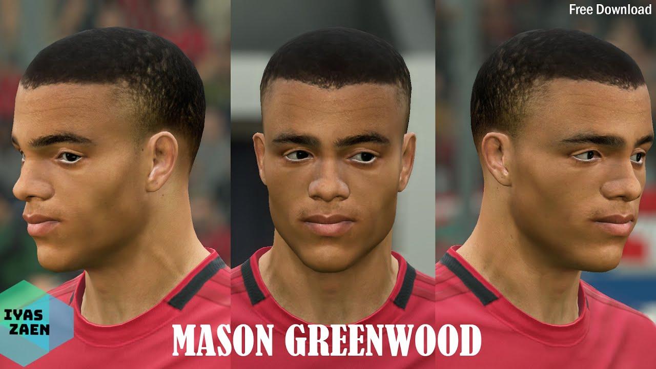 FIFA 20 Face Update   Mason Greenwood Face Update - YouTube