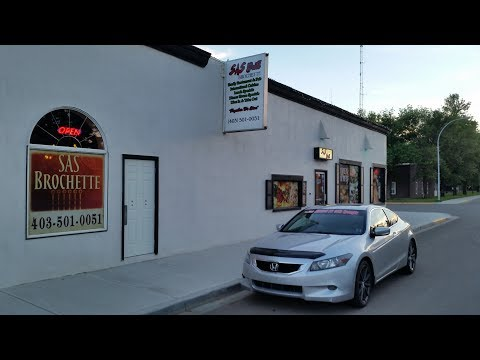 Restaurant Review of the SAS BROCHETTE  101 1Ave East Brooks, Alberta