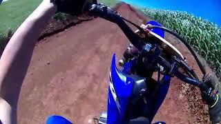 Trilha de moto