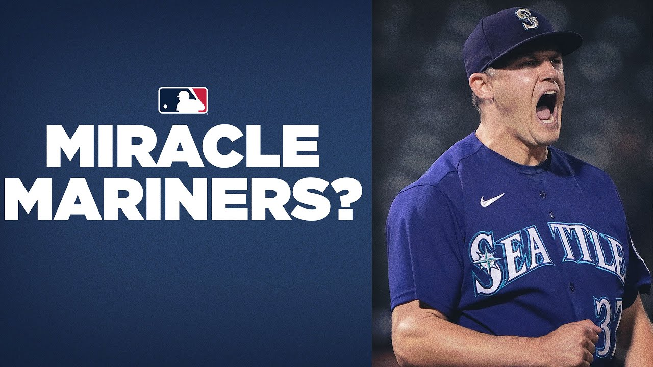 BELIEVE! Mariners taking Ted Lasso's advice as they win 9 of 10 to close in on Postseason spot!