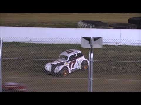 Ohio Valley Roofers Legend Car Series Feature from Florence Speedway, April 8th, 2017.