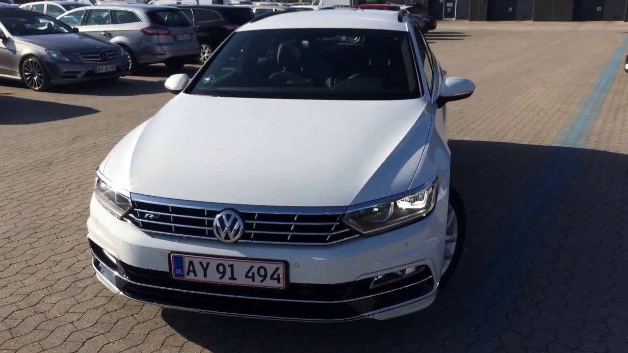 2016 vw passat 2 0 tdi r line variant youtube. Black Bedroom Furniture Sets. Home Design Ideas