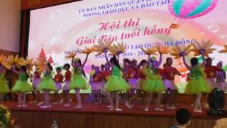 Em yêu Tổ quốc Việt Nam -  Hội thi GIAI ĐIỆU TUỔI HỒNG 2016, quận Hà Đông, Hà Nội