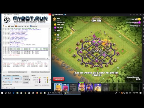 Clash of Clans BOT Gameplay