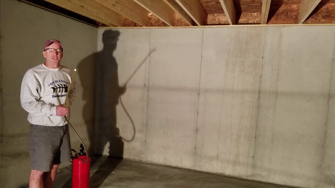 D& Basement Protection D&proofing Basement Walls - DIY Penetrating Sealer - (Prevent Moisture) & Damp Basement Protection: Dampproofing Basement Walls - DIY ...