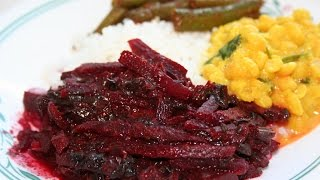 SRI LANKAN BEETROOT CURRY RED BEETS Vegetarian Vegan option