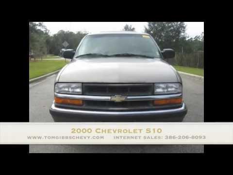 Used 2000 Chevrolet S10 At Tom Gibbs Chevy Palm Coast 32164
