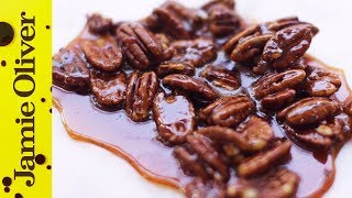 How To Make Caramel & Pecan Brittle | Jamie's Comfort Food | Pete Begg
