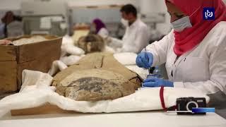 بدء أعمال ترميم التابوت الذهبي للفرعون توت عنخ أمون - (5-8-2019)