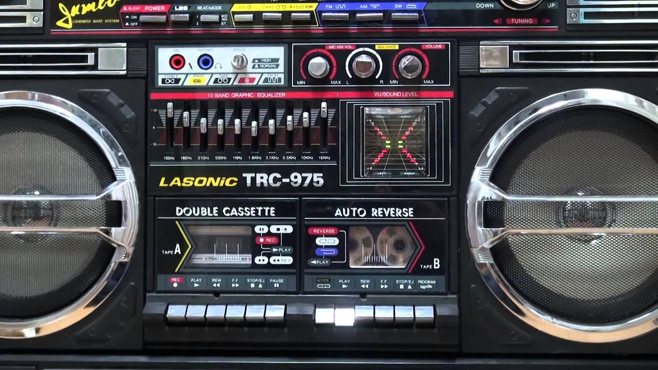Lasonic trc 975 boombox youtube - Lasonic ghetto blaster i931x ...