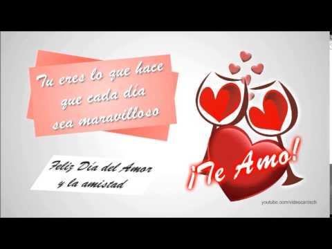 Mensajes Amor Y Amistad Animados Mensajes 14 Febrero Youtube