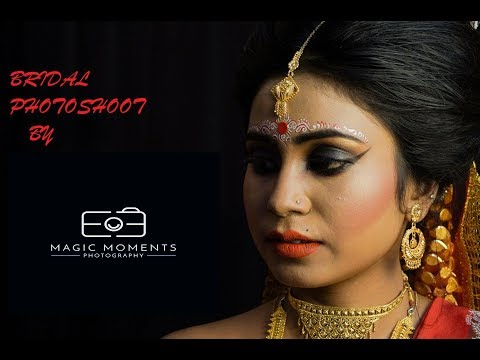 BRIDAL PHOTOSHOOT BY MAGIC MOMENTS