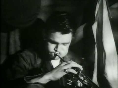 Chet Baker dans le film Hell's Horizon (1955)