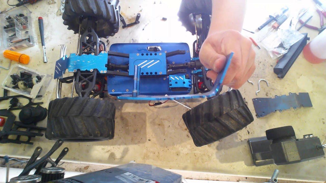 the rc enthusiast traxxas t maxx repair [ 1280 x 720 Pixel ]
