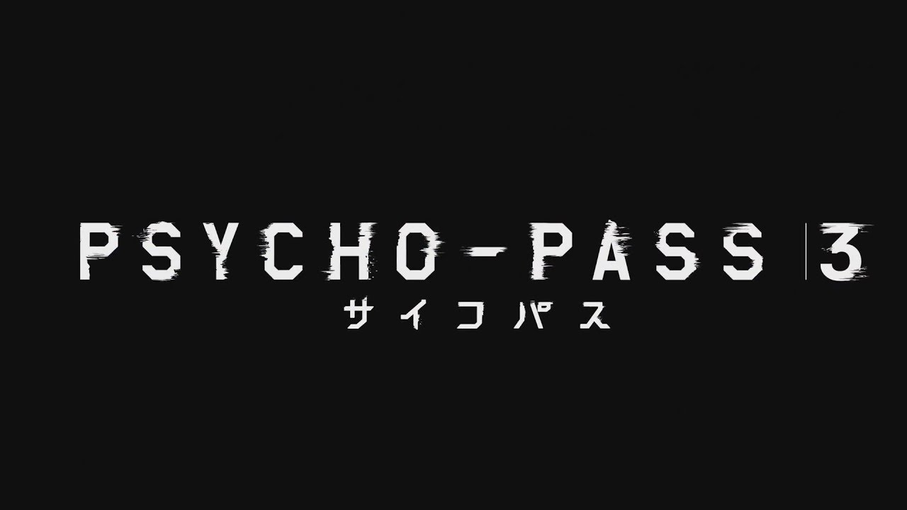 Psycho Pass Season 3 Release Date Confirmed Youtube