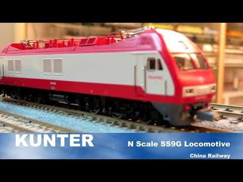 KUNTER China Railway N Scale SS9G