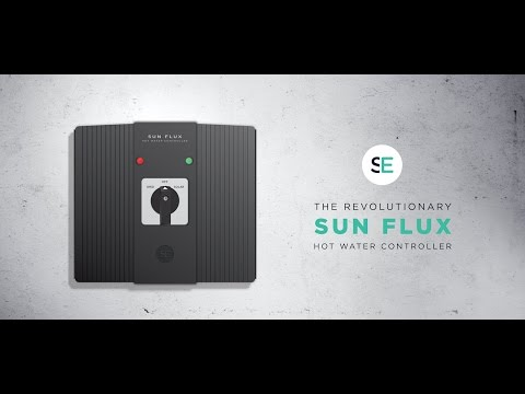 Solar Off Grid electric hot water. Sun Flux II. Installing the new tank