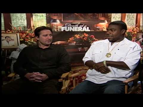 Tracy Morgan and Luke Wilson talk family in Death at a Funeral