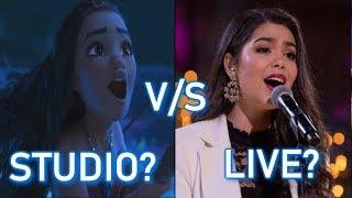 Download Disney Princesses - STUDIO vs LIVE performances Mp3 and Videos