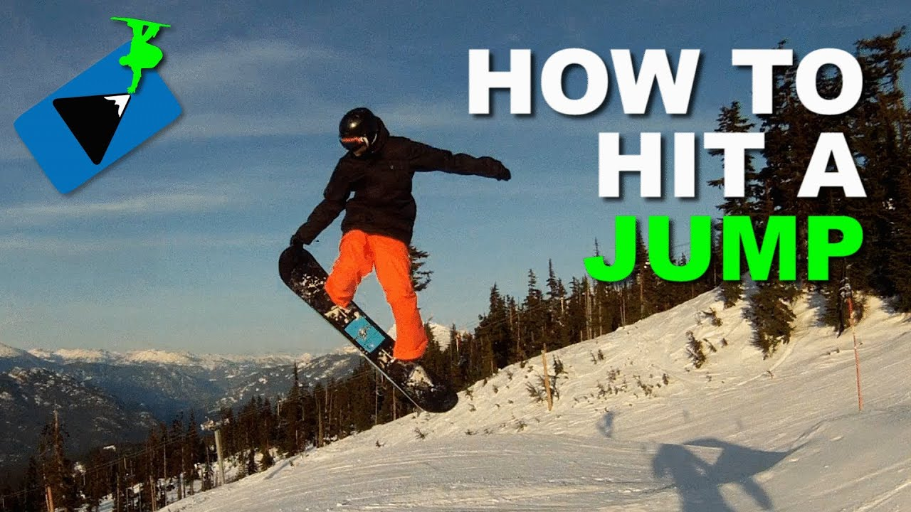 8aece5b6db6 How to JUMP on a Snowboard - Snowboarding Tricks - YouTube