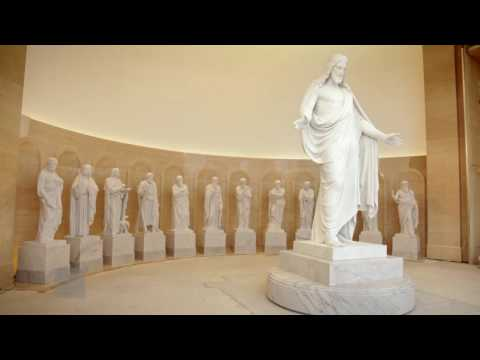 Rome Italy Temple Receives Statue of Christ and the Original Twelve Apostles