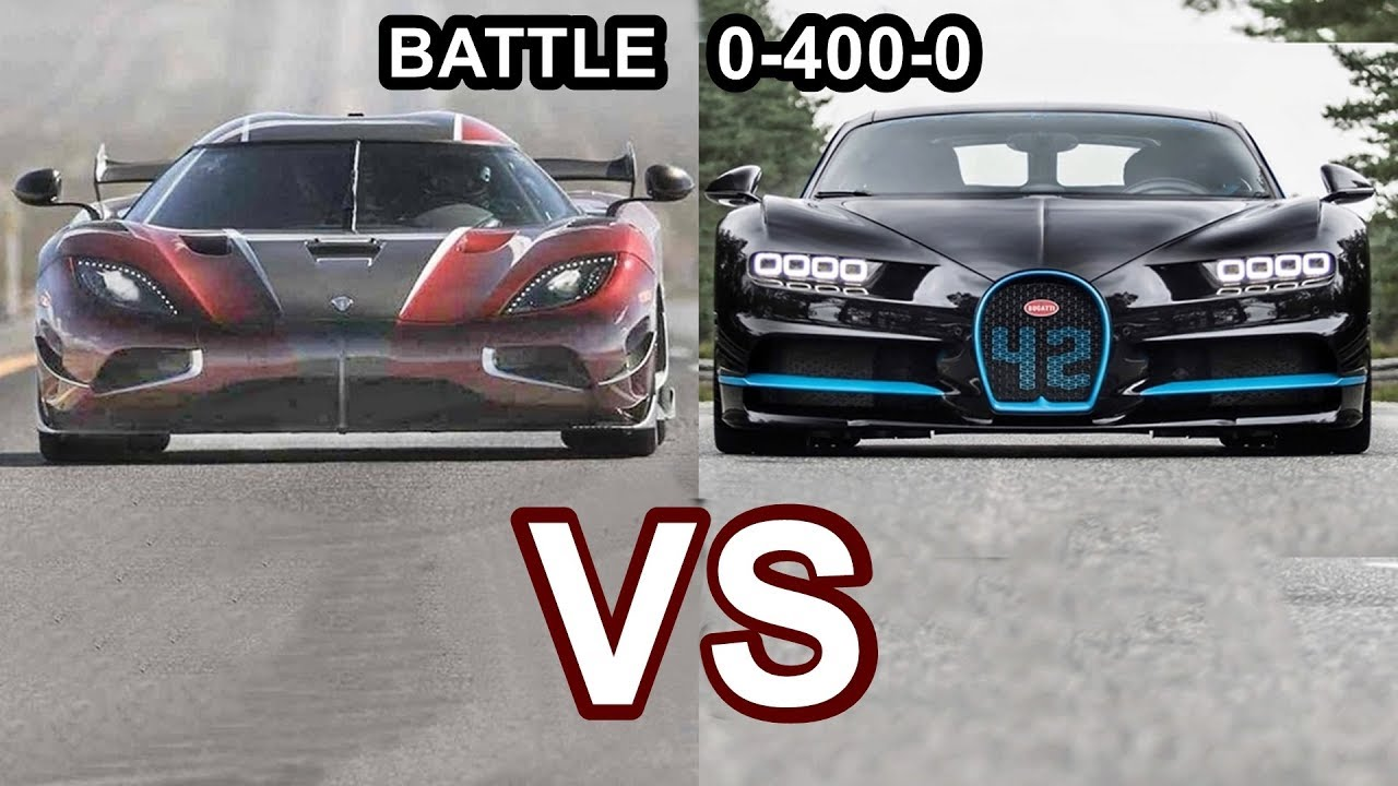 Fastest Car In The World >> 2018 Koenigsegg Agera Rs Vs 2018 Bugatti Chiron World S Fastest Cars