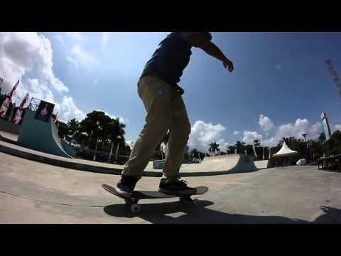 lil footy at Engku Putri Batam skatepark