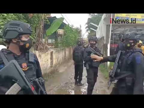 Polisi Gerebek Kampung Narkoba di Lorong Jambu Palembang