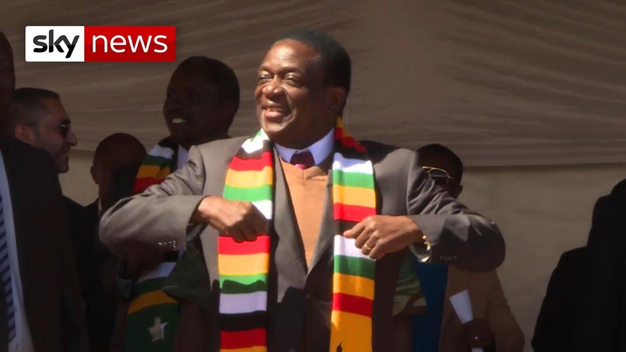 Mnangagwa promises unity for Zimbabwe - YouTube