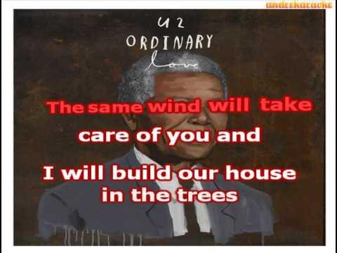 U2 - Ordinary love - karaoke