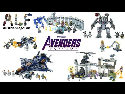 Lego Avengers Endgame Compilation Of All Sets - Lego Speed Build Review