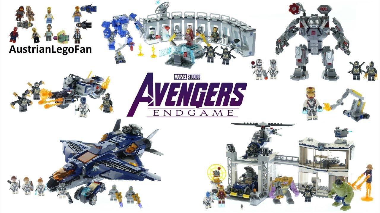 The Avengers final battle 4 sets Building Blocks bricks new no box