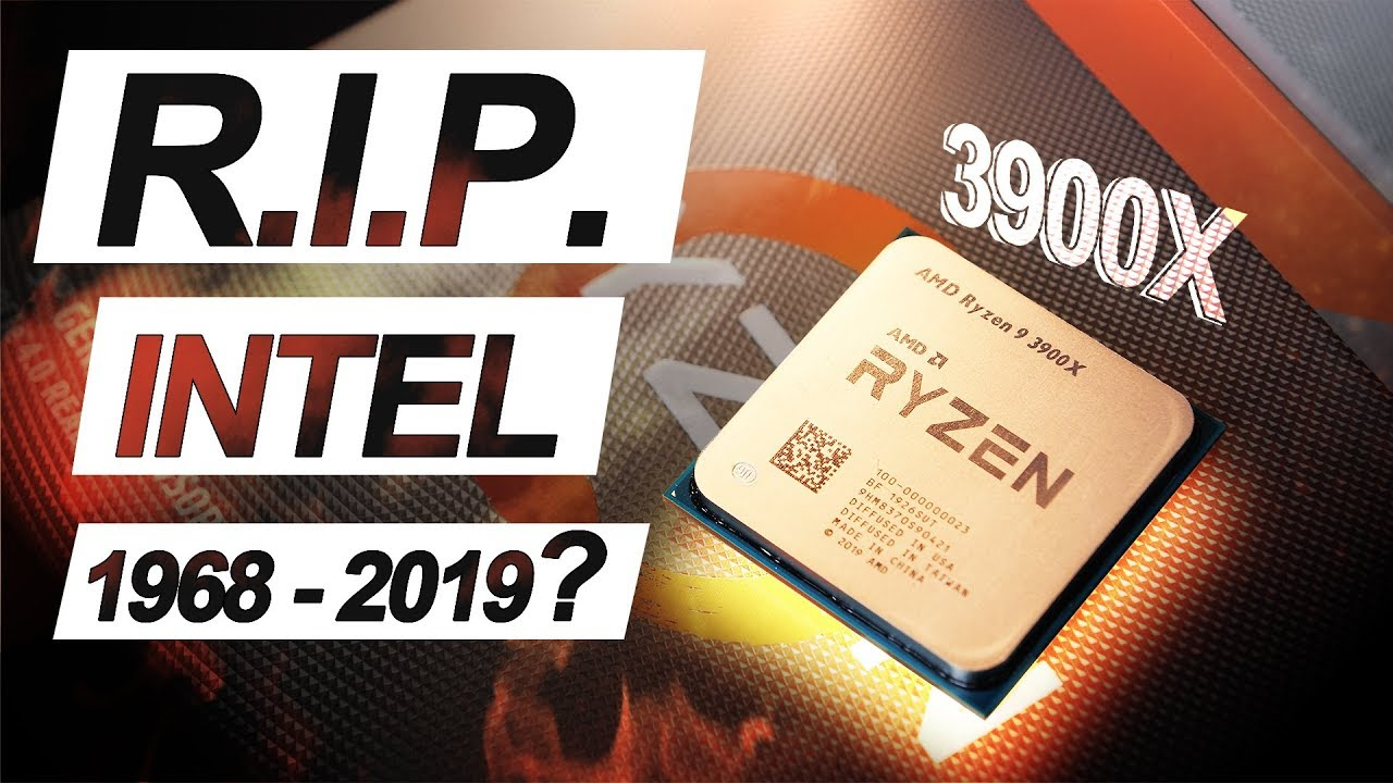 Is THIS the END of INTEL  ?! -- AMD Ryzen 9 3900X