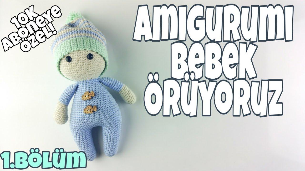 Amigurumi örgü oyuncak masum ayı yapılışı anlatımlı | Amigurumi ... | 720x1280
