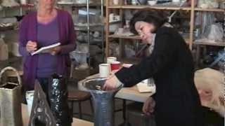 Ikebana Pottery Jurying 2013