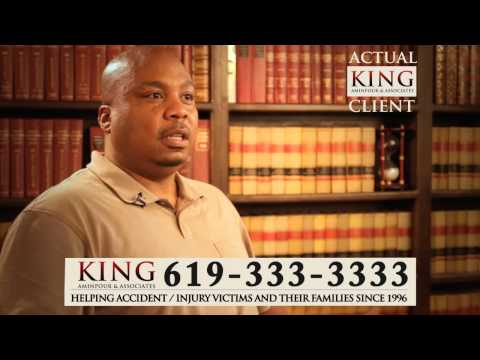 King Aminpour Car Accident Lawyer - San Diego Car Accident - Testimonial