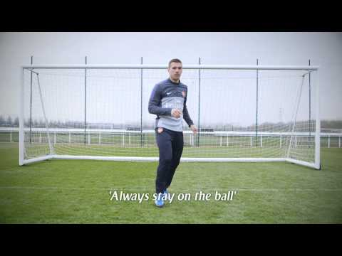 Share A Smile Arsenal Style | Podolski | Emirates Airline