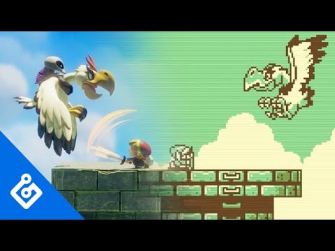 Comparing All Link S Awakening Remake Bosses To The Gameboy Version