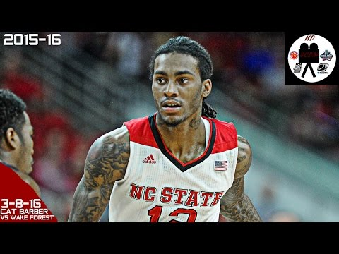 Anthony Cat Barber ACC Tourn Full Highlights vs Wake Forest 1st Rd (3-8-16) 22 Pts 6 Asts 2 Stls