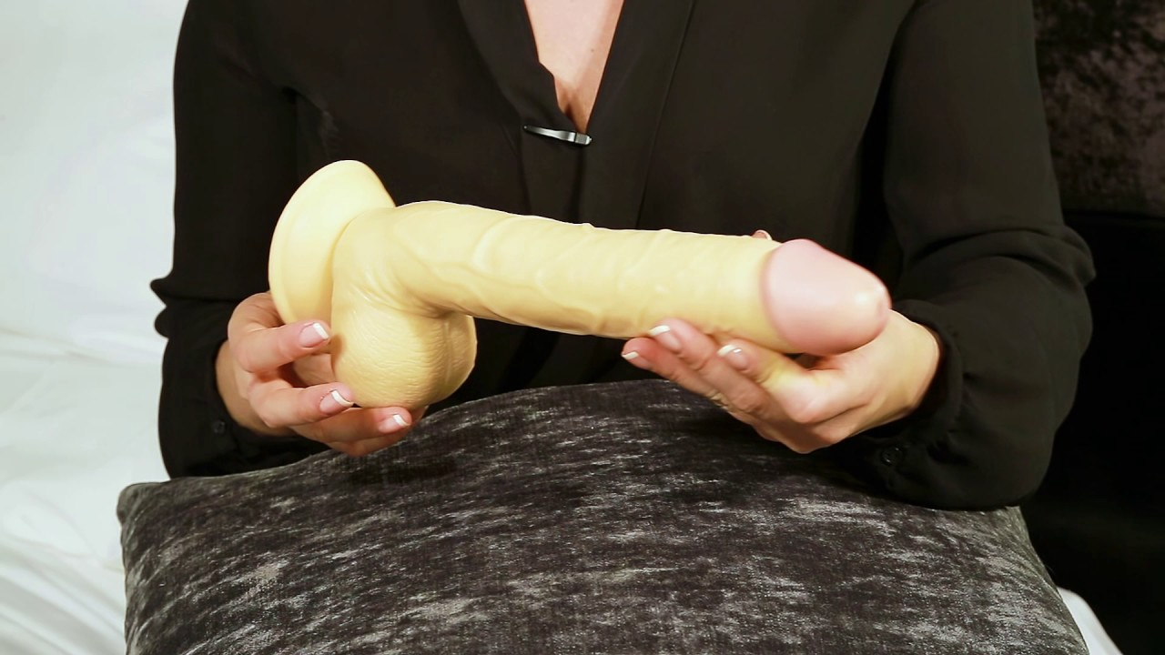 12 inch dildo all in ass deepthroat - 1 4