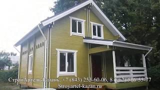 видео Дома из Вологодского бруса