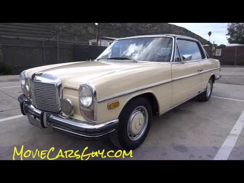 Movie Cars Mercedes Benz W114 Classic Youngtimer TV Films Movies Car For Sale