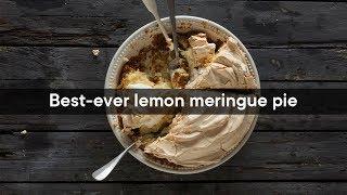 Best-ever lemon meringue pie  Woolworths TASTE Magazine