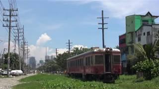 フィリピン国鉄 元JR東日本キハ52形(キハ52 122) North Rail走行(Tutuban~Solis)