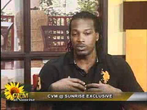 Chris Gayle Interview on CVM@SUNRISE Part 2