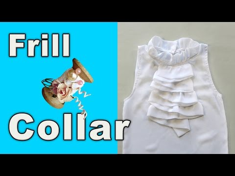 How to make a Frill Collar for the Basic blouse
