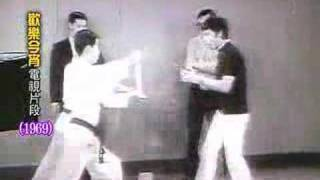 Bruce Lee on Hong Kong TV 1969