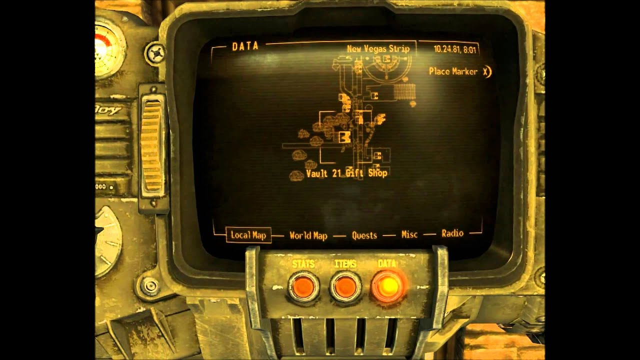 Fallout: New Vegas Cheats, Codes, Cheat Codes, Unique