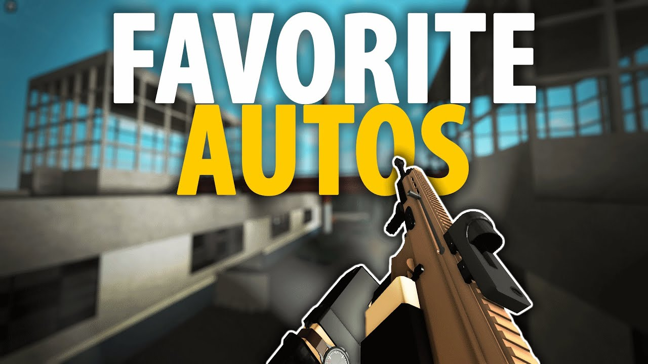 Download My FAVORITE AUTOS in Phantom Forces!