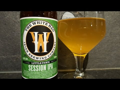 The White Hag Little Fawn Session IPA By The White Hag Irish Brewing Company
